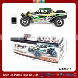 RC Car 59cm 2.4G 4WD 55km/h Alloy Body Professional Buggy High Speed Racing Car Hydraulic Damping Remote Control Toy