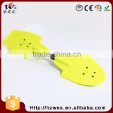 EN13613A 60kgs Top PP Deck Material OEM Fish Shape Skateboard