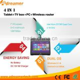 "7"" 1280*800 Adreamer X8 Win 10 + Android 4.4 Dual Boot Intel Z3736F Quad Core Mini PC Tablet"