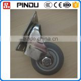 Portable hanging sliding chair table plastic wheels for furniture