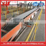 Automatic sacked cement self truck loader for transportation with belt conveyor