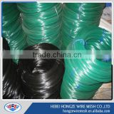 blue or green epoxy coated tie wire pvc wire