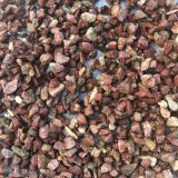 Chicken Blood Red Colored Gravel Stone For Paving Road 10 - 20mm