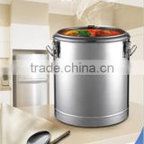 Stainless steel heat insulated pot