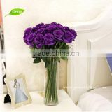GNW FLS01 Artificial Flower Rose Bundle Real Touch Good Quality Factory Wholesale for Wedding Decoration