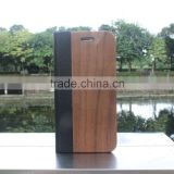 Classical Chinese walnut/bamboo/rosewood/cherry card bumper/pocket cell phone case for Iphone 7