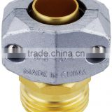 various style superior Solid Brass Strength Fabric energy-saving flexible conduit adaptor