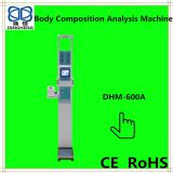 DHM-600A Medical and Personal  body composition analysis ,body fat ,blood pressure ,ultrasonic height and weight scale