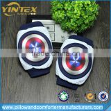 2017 Hot new design great shield print for baby crawling pads in elbow and knee protector