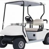 two seat electric club car golf cart