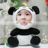 DIY panda picture frame with human face toy