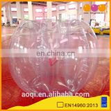 AOQI crazy fun factory price inflatable football roller ball from professional manufacturer