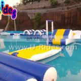 Funny Inflatable Floating Water Park With Pool