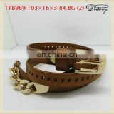 High quelity women leather belts for Indian market