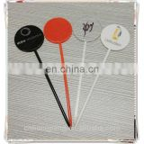 Novelty plastic stick/plastic stirrer/plastic sticks for fruit