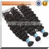 Wholesale cheaper Grade 5A Peruvian deep wave human virgin hair weaves