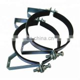 rubber lined cast iron pipe clamp for sale