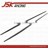 REZ STYLE CARBON FIBER SIDE SKIRTS INSERT FOR MERCEDES BENZ A-CLASS W176 AMG A46(JSK061030)