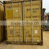 PROMOTIONAL PERIOD! BIG DISCOUNTS! Qingdao 40 Foot High Cube Used Dry Steel Cargo Container with Solid Steel Structure