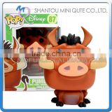 Mini Qute Funko Pop The Lion King Pumbaa Kids gift super hero action figures cartoon models educational toy NO.FP 87