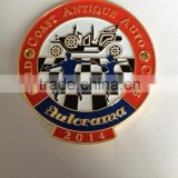 2014 Autorama metal challenge coin gold Coast Antique Auto Club coins