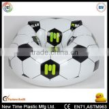 pvc inflatable bean bag chair with football printing                                                                         Quality Choice