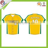 professional custom sportswear sublimated baseball jersey pattern