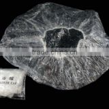 comfortable waterproof disposable hotel shower cap /2 sided hotel shower enclosure