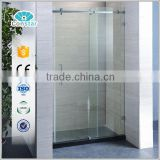 2016 Constar factory made new design Classic Prefabricated Compact 3 Sided Tempered Glass Shower Enclosure
