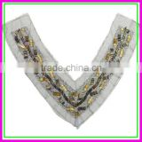 Garment accessories importers,OEM/ODM Plastic Beads Handmade New Europe Style v Net Cloth False Collar