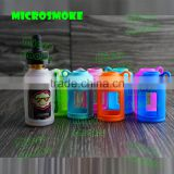 Best selling products e cigarette liquid bottle silicone cover e cigarette mod vapor liquid bottle silicone case