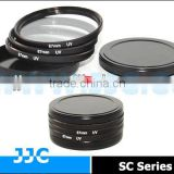 JJC SC-37 37mm Screw-in Metal Filter Stack Cap/Camera Filter case,protecting filters from dust and scratches