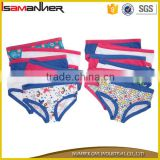 Different colors hipster panty fancy lovely girl kids thong underwear