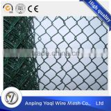 6 foot blue vinyl coated privacy chain link fence