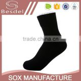 high quality white football sock