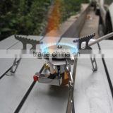 16 * 16 * 5cm Portable Outdoor Folding Gas Stove Camping Hiking Picnic 3500W Igniter Gas Stoves Camping Equipment