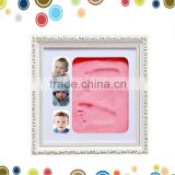 Baby foot and hand impression frame kit