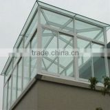 Aluminium Sun Room Aluminum winter garden outdoor glass sun room