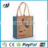 Giveaway Cheap Logo Customized Cotton Jute Bag/custom printed jute bags/custom logo dry bag
