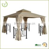 Metal roof pavilion with new design made in China outdoor furniture metal pergola party tent