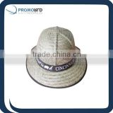 kids straw hat bucket straw hat flower decoration