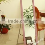 Wholesale new designed ps framed stand for floor dressing glass mirror
