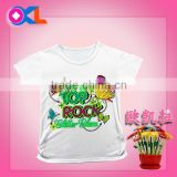 Hot sale fashionable cute wholesale kids clothes cheap tshirts plain tshirt polo shirts