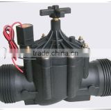 AC 24V Plastic 3 Inch Solenoid Valve For Irrigation