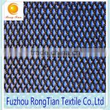 Breathable 100 polyester warp knitted diamond mesh lining fabric for shoes