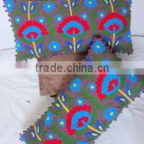New 100% Cotton Material vintage suzani cushion Cover,Custom Design Suzani pillow Cover Manufacture in Jaipur