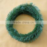 30cm PET evergreen Christmas wreath hanging decoration