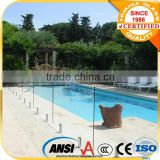 800*1200*12mm toughened glass for glass pool fencing/swimming pool/12mm tempered pool fence glass factory supply