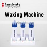 Hot Sale Roll-On Depilatory Wax Heater/ Electric Waxing Kit/ Hair Removal Waxing Machine