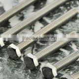 High tensile SUS 316 hex bolt and nut